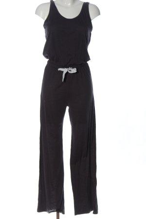 H&M Langer Jumpsuit schwarz Casual-Look