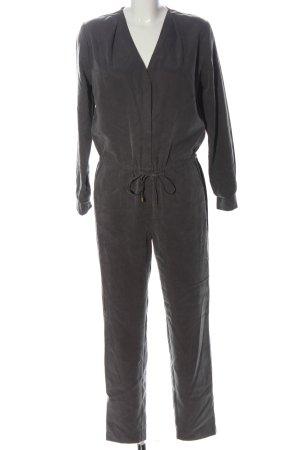 H&M Langer Jumpsuit hellgrau Casual-Look