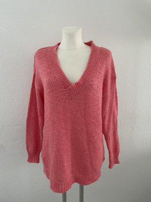 H&M Pull long saumon-rouge clair