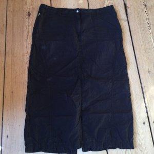 H&M Spódnica militarna czarny