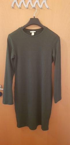 H&M Sweat Dress khaki
