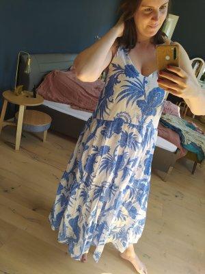 H&M langes Trägerkleid mit Print Maxikleid Sommer Summer