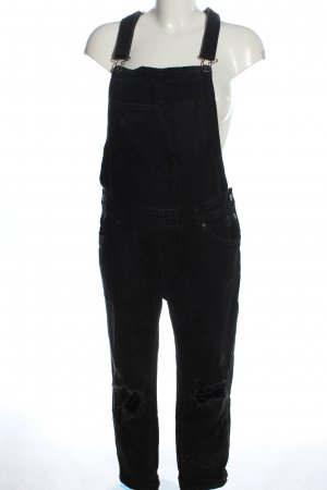 H&M Latzhose schwarz Casual-Look