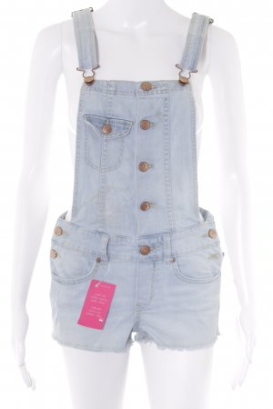 H&M Dungarees light blue street-fashion look