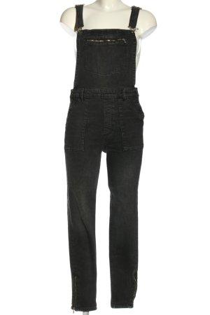 H&M Salopette denim nero stile casual