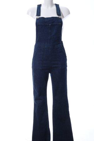 H&M Jeans met bovenstuk blauw casual uitstraling