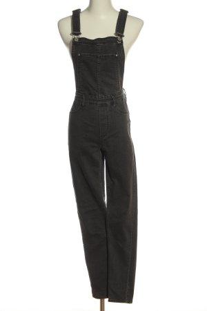 H&M Salopette denim grigio chiaro stile casual