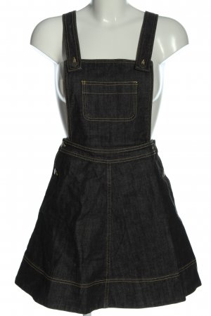 H&M Overgooier overall rok zwart casual uitstraling