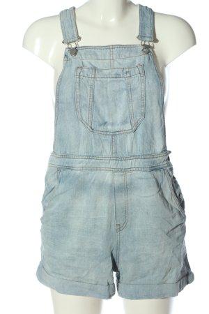 H&M Latzshorts blau Casual-Look
