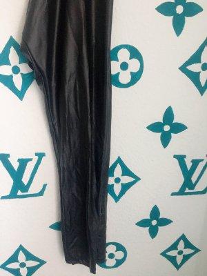 H&M Leder leggings