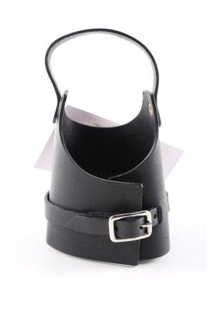 H&M Bracelet en cuir noir style décontracté