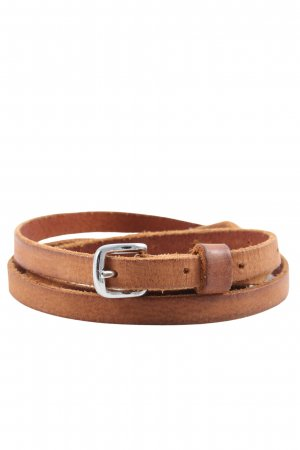 H&M Leather Belt brown casual look