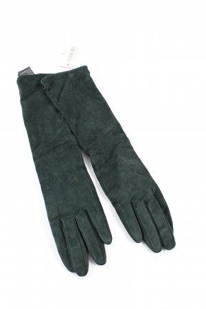 H&M Leather Gloves khaki-black casual look