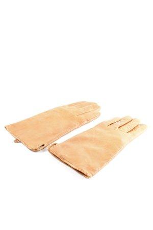 H&M Guanto in pelle color carne stile professionale