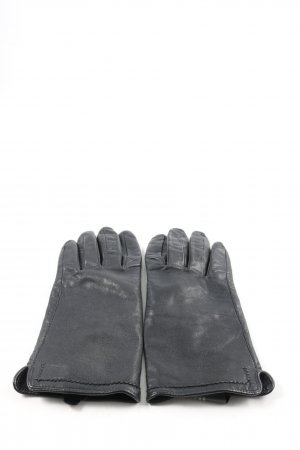 H&M Leather Gloves black casual look