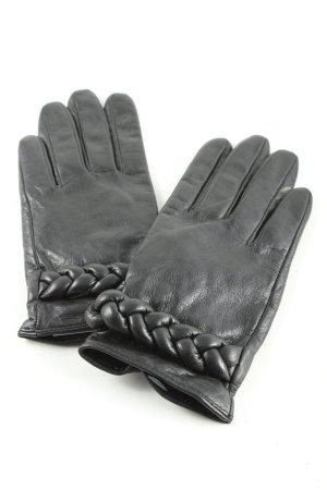 H&M Guanto in pelle nero stile casual