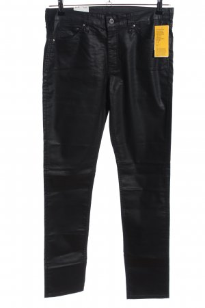 H&M Five-Pocket-Hose schwarz Casual-Look