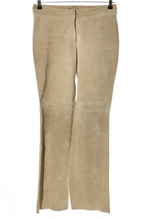 H&M Lederhose braun Casual-Look