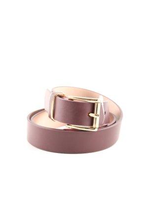 H&M Cinturón de cuero de imitación rojo estilo «business»