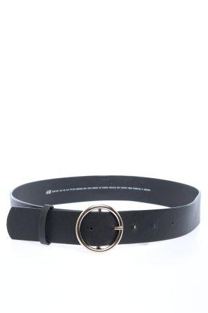 H&M Cintura in ecopelle nero stile casual