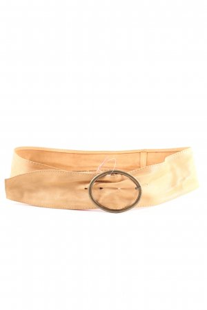 H&M Faux Leather Belt nude-bronze-colored casual look