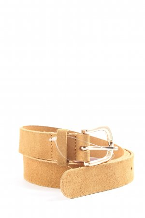 H&M Faux Leather Belt nude casual look