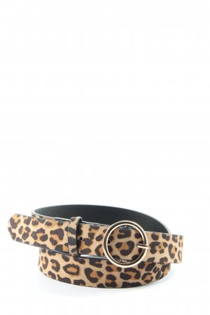 H&M Faux Leather Belt animal pattern extravagant style