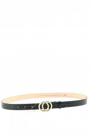 H&M Faux Leather Belt black casual look