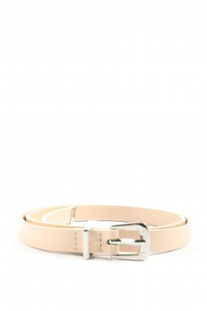 H&M Faux Leather Belt cream business style