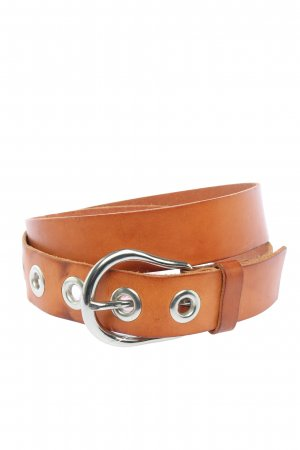 H&M Faux Leather Belt brown casual look