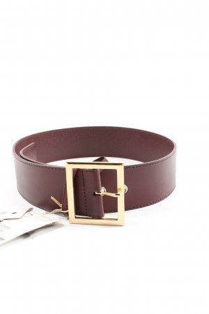 H&M Leather Belt red casual look
