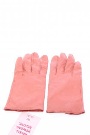 H&M Faux Leather Gloves pink business style