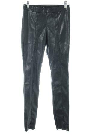 H&M Leggings schwarz Glanz-Optik
