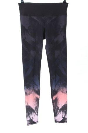 H&M Legging abstract patroon atletische stijl