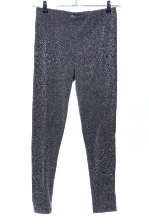 H&M Leggings silberfarben meliert Elegant