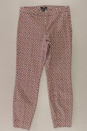 H&M Leggings Größe 36 geometrisches Muster braun aus Baumwolle