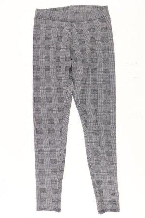 H&M Leggings Größe M kariert grau aus Polyester