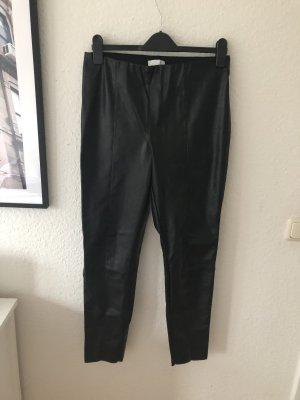 H&M Leggings in Lederoptik