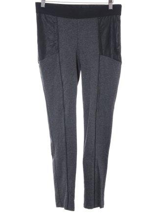 H&M Leggings schwarz-dunkelgrau meliert Casual-Look