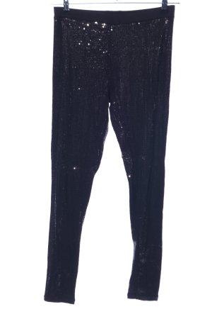 H&M Leggings schwarz extravaganter Stil