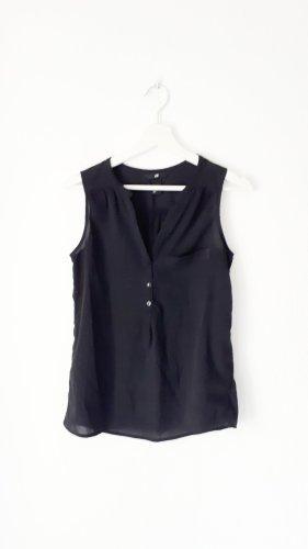 *h&m* Leichte Bluse schwarz