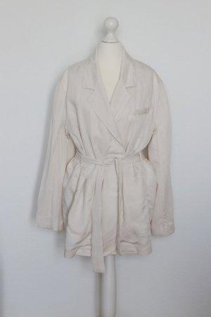 H&M Leichter Trenchcoat Gr. 38 naturweiß