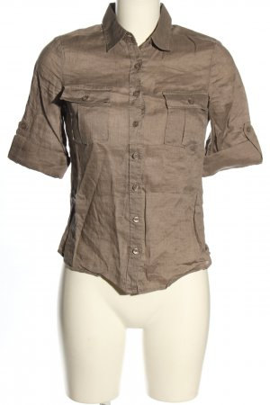 H&M Linen Blouse brown casual look