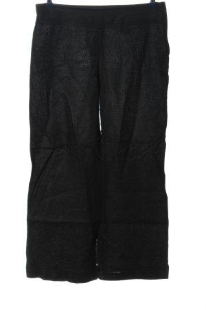 H&M Pantalone di lino nero stile casual