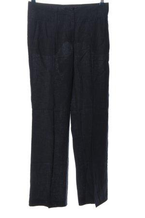 H&M Leinenhose schwarz Casual-Look
