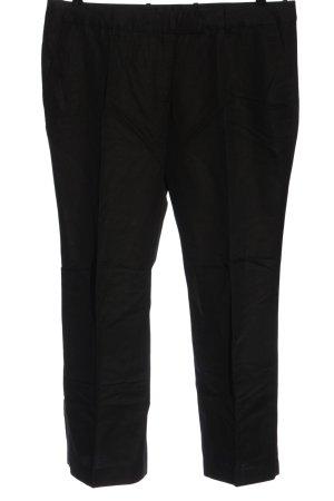 H&M Pantalón de lino negro look casual