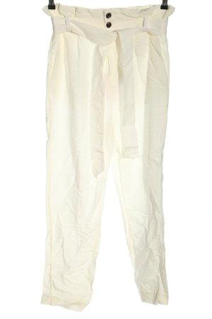H&M Pantalón de lino blanco look casual