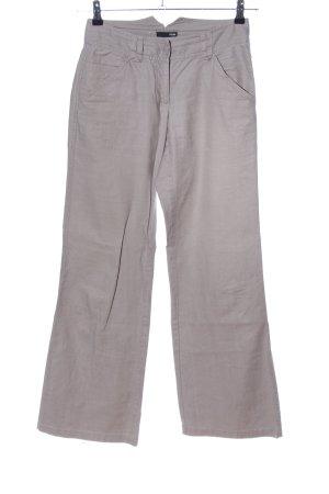 H&M Pantalone di lino grigio chiaro stile casual