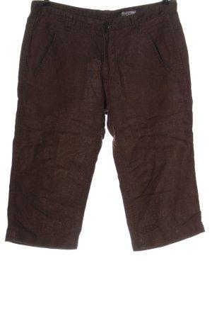 H&M Pantalón de lino marrón look casual