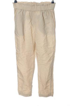 H&M Pantalón de lino blanco puro look casual
